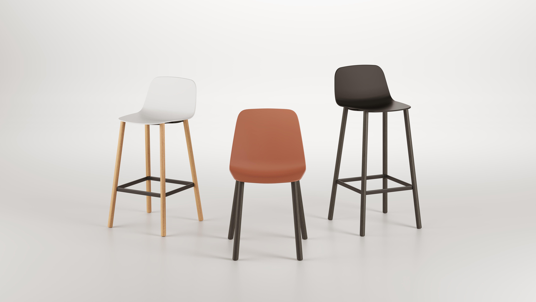 Maarten plastic stool